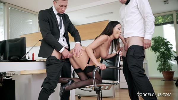 Dorcel Club – Alyssia Kent Lana Roy – Lana and Alyssia's hot desk