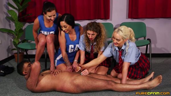 Pure CFNM – Candice Demellza Lana Harding Luci Reign And Tindra Frost – Sorority Approval