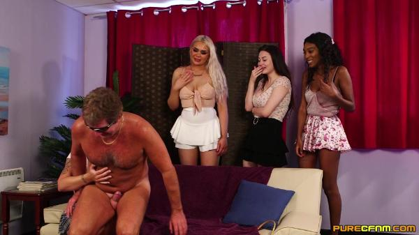 Pure CFNM – Asia Rae Belle Ohara Gabriella Knight And Gina Varney – Blind Sharing